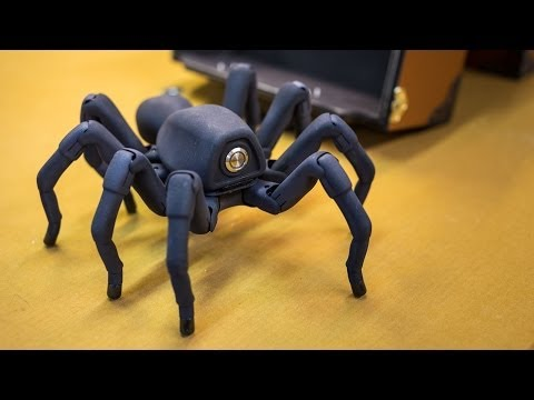 Inside Adam Savage's Cave: Awesome Robot Spider!