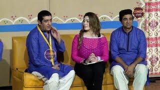 Best Of Zafri Khan and Khushboo Satge Drama Dil Lagi 2 Full Comedy Clip 2019
