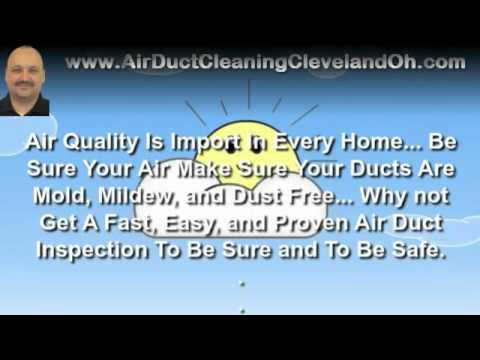Air Duct Cleaning Cleveland OH - Benefits of Getting Your Air Ducts Cleaned