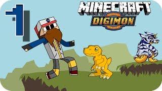 Digimon en Minecraft Episodio 1 | ¿Que digimon?