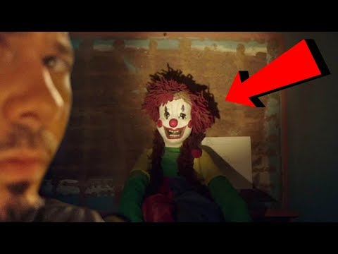 HAUNTED CLOWN ATTIC (GHOST CAUGHT ON TAPE)