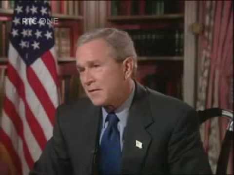 George W. Bush Interview (Irish TV)