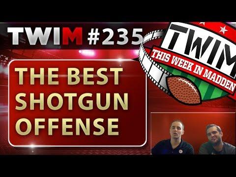 Madden 18 Gameplay | Easy to Run Shotgun Offense | Madden 18 Tips