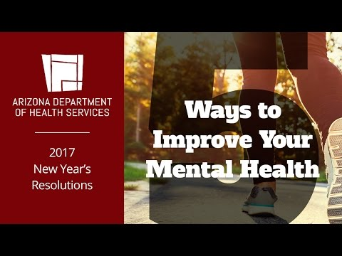 New Year's Resolutions: 5 Ways to Improve Your Mental Health