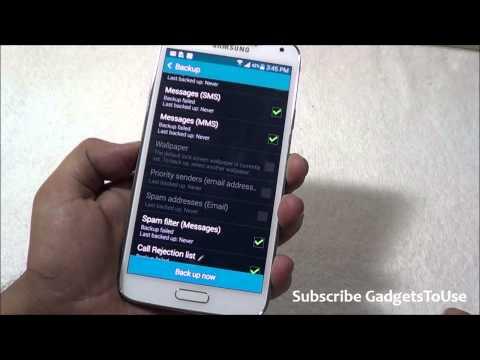 Samsung Galaxy S5 Cloud Storage Overview HD