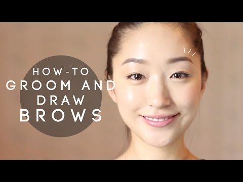 HOW-TO: Groom and draw Brows   dahyeshka