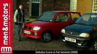Daihatsu Cuore vs Fiat Seicento (2000)