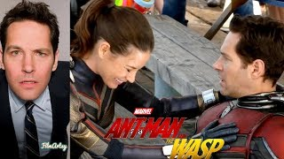 Paul Rudd Hilarious Bloopers and Gag Reel | Ant-Man & The Wasp Special