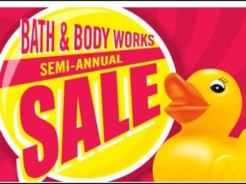 Bath & Body Works Semi-Annual Sale: June 2018