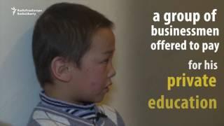 Help For Kyrgyz Plane Crash Orphan