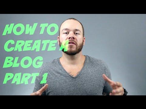 How to Start a Blog - Choosing a Domain - Part 1