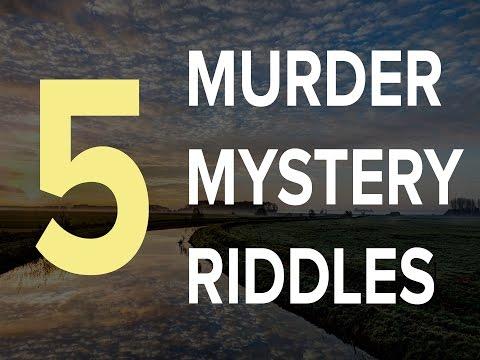 Top 5 Murder Mystery Riddles