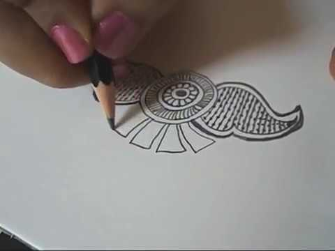 How to Learn Arabic Mehndi Design (Tenth Day Class)