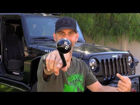 Jeep Wrangler JK Transfer Case Shift Handle Swap How To - B & M