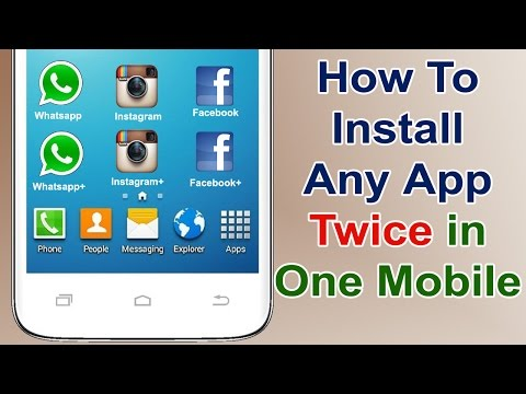 How to install two whatsapp on one android mobile 2016
