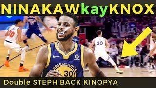 Steph Curry NINAKAW ang DOUBLE STEP BACK ni KEVIN KNOX!