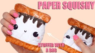 Download DIY PAPER SQUISHY | HOW TO MAKE A SQUISHY WITHOUT FOAM #21 Video