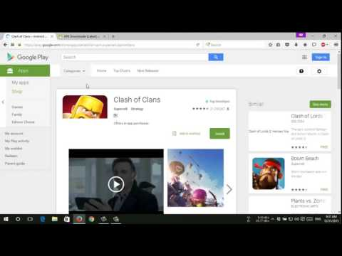 How To Download APK file From Google Play Store On PC - Android