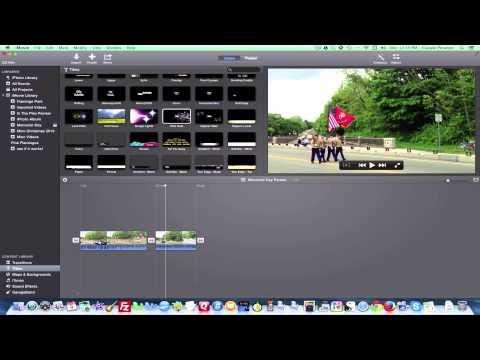 iMovie 11 Tutorial - Editing