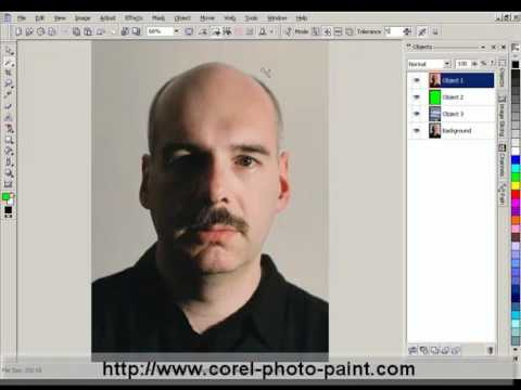 Fast Image Masking in Corel PHOTO-PAINT