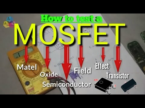 SMD MOSFET | How to test a MOSFET (SMD type or NON-SMD type) with multimeter ? hindi