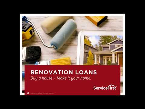 Buy A Home and Make it your own with Renovation Loans