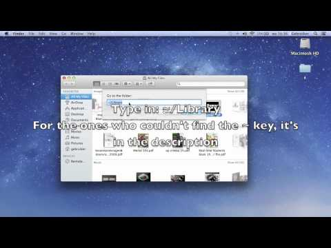 -MAC- How to acces a locked user/library folder.