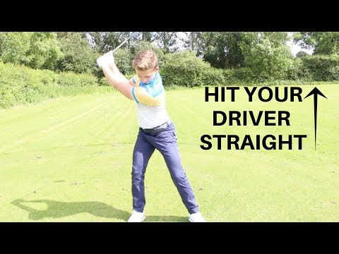 HOW TO HIT YOUR DRIVER STRAIGHT!