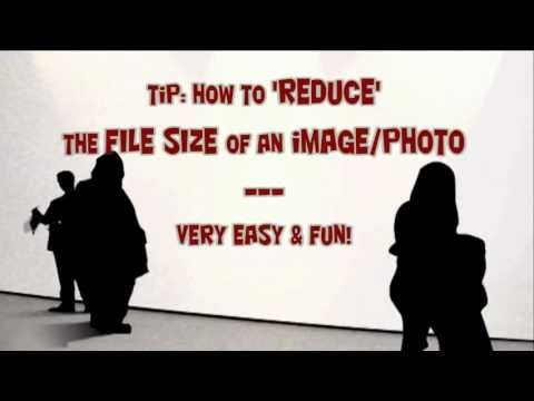 How to reduce file size of jpeg png gif image Very EASY