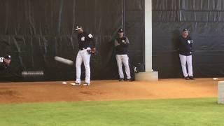 Yankees' Domingo Acevedo throws in bullpen