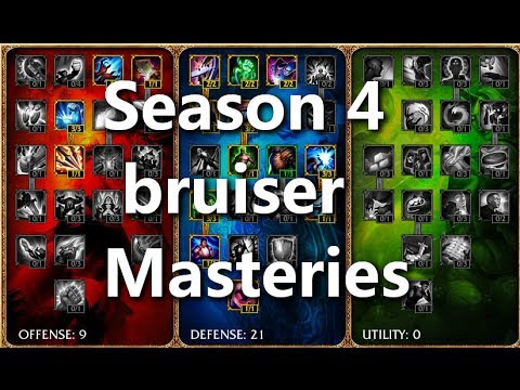 Season 4 Masteries Update!