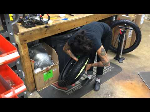 Tubeless Fat Bike Tire Set-Up How to