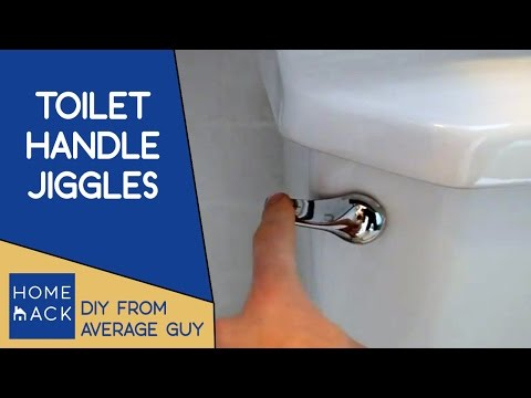 Toilet handle loose | Fix for loose toilet handle