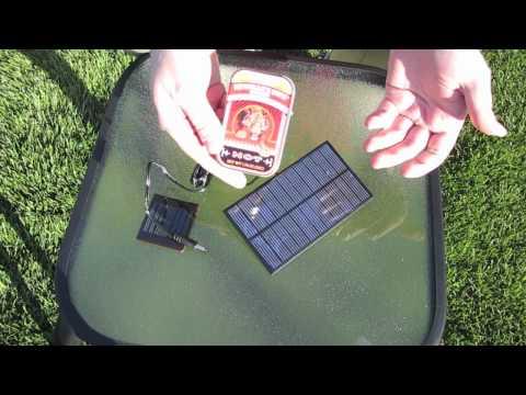 Heavy Duty Solar USB Charger