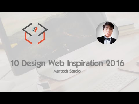 Web Design Inspiration 2016