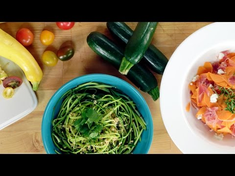 How to Make Vegetable Noodles Without a Spiralizer | Eat the Trend