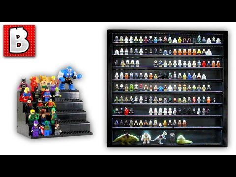 How To Display Your Lego Minifigures | Epic Star Wars Collection In A Custom Case