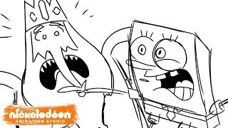 """SpongeBob Meets The Ice King"" Animatic 