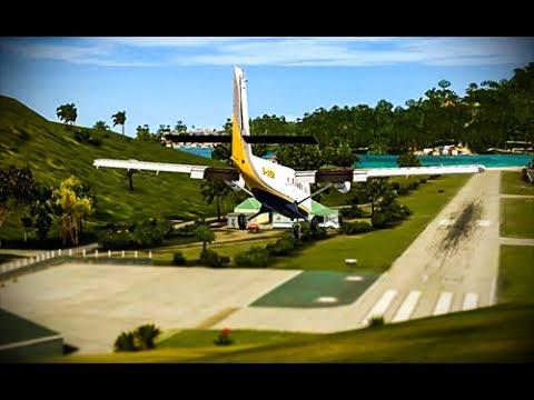 【Dangerous Airports】 ✈ St. Barts ✈ FSX Max Realism!