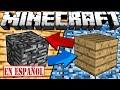 SI LA BEDROCK Y LA MADERA CAMBIASEN LUGARES - Minecraft