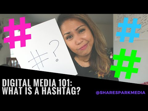 What is a Hashtag? - Social Media 101