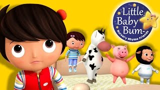 Five Little Baby Bum Friends Jumping On The Bed | Nursery Rhymes | Original Song By LittleBabyBum!