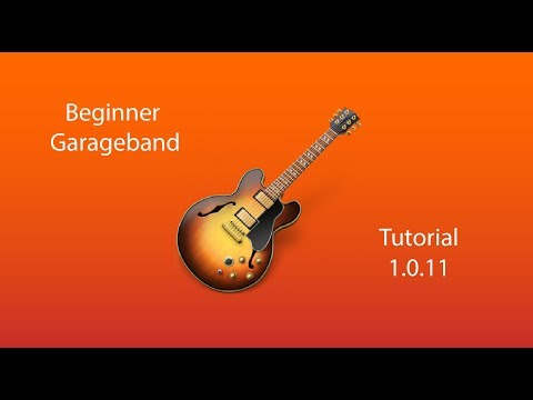 Garage Band Tutorial for Beginners (and how to join split tracks)