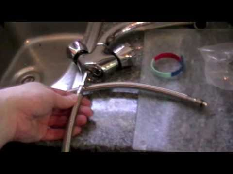 How to change / plumb a leaky / faulty Monobloc mixer  tap.