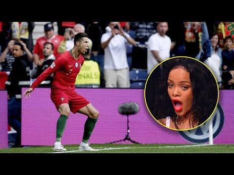 Stadium Reaction on Cristiano Ronaldo Skills & Goals 2019 😱