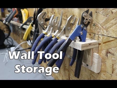 Building French Cleat Tool Shelves