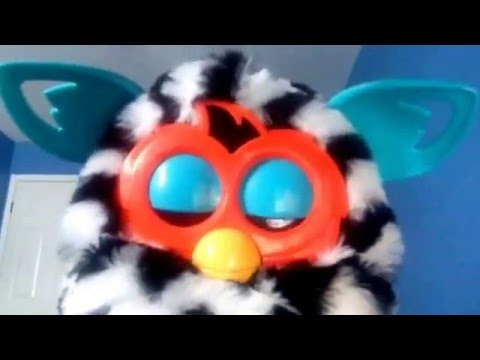 Furby sleep in deep voice and wake up in normal voice