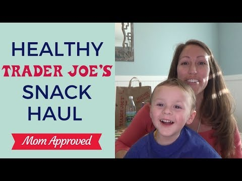 Healthy Trader Joes Grocery Finds | Healthy Grocery Store Haul