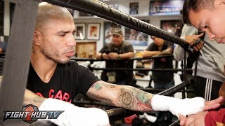 Wrap Your Hands Like A PRO: Miguel Cotto