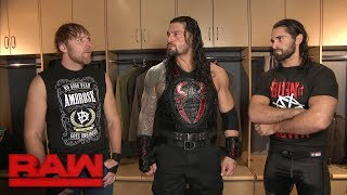 Former members of The Shield convene backstage: Raw, Oct. 2, 2017